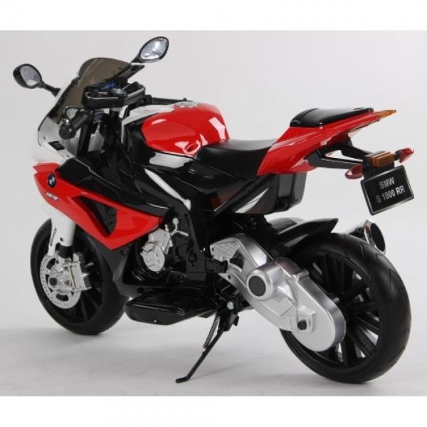 Motocicleta Bmw 12 v cu roti ajutatoare pentru copii 3