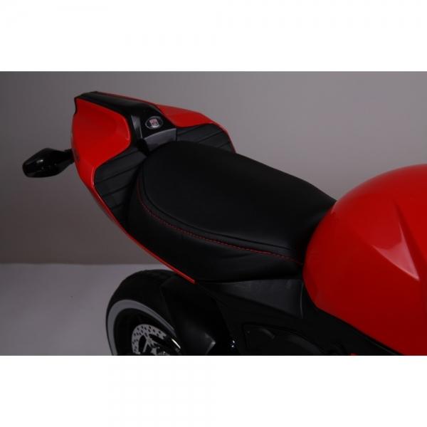 Motocicleta electrica 12 v acceleratie pe ghidon Ride on Bike 4