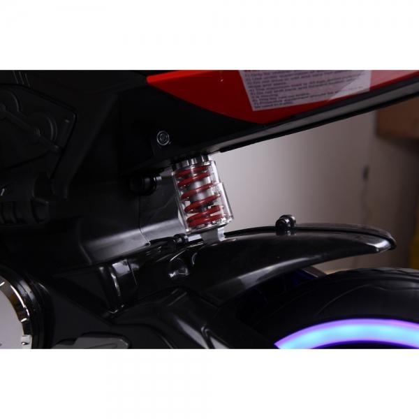 Motocicleta electrica 12 v acceleratie pe ghidon Ride on Bike 6