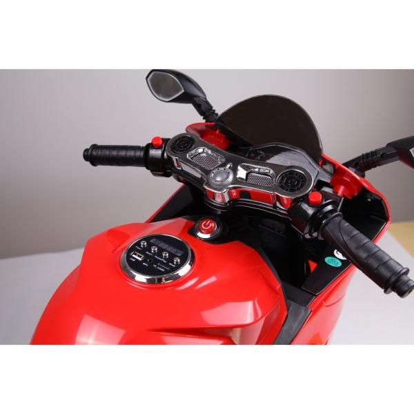 Motocicleta electrica 12 v acceleratie pe ghidon Ride on Bike 5