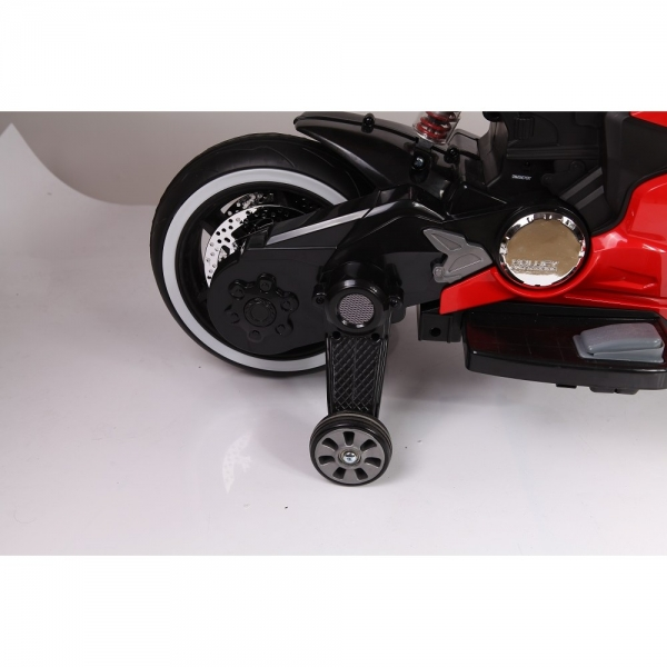 Motocicleta electrica 12 v acceleratie pe ghidon Ride on Bike 2