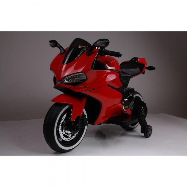 Motocicleta electrica 12 v acceleratie pe ghidon Ride on Bike 7