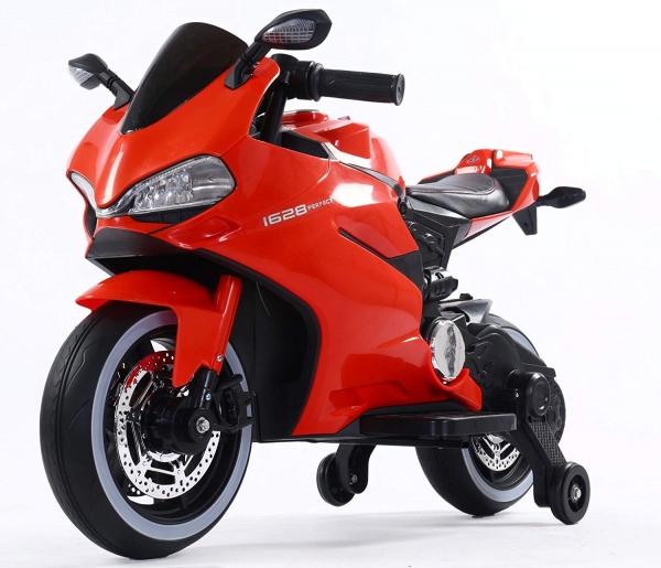 Motocicleta electrica 12 v acceleratie pe ghidon Ride on Bike 0