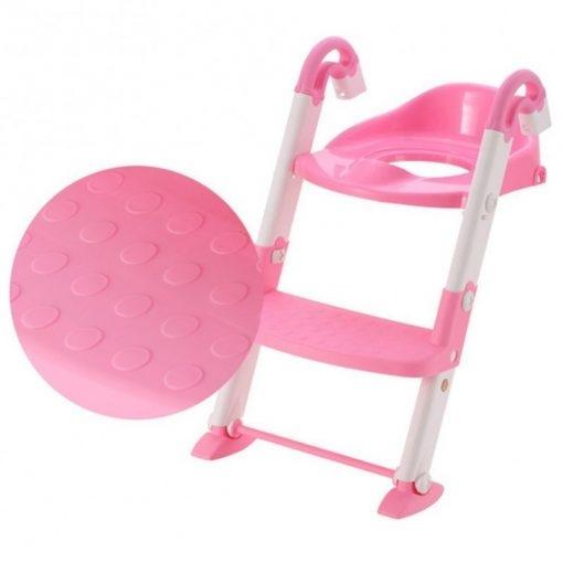 Scaun cu scarita toaleta pentru copii 3 in 1 3