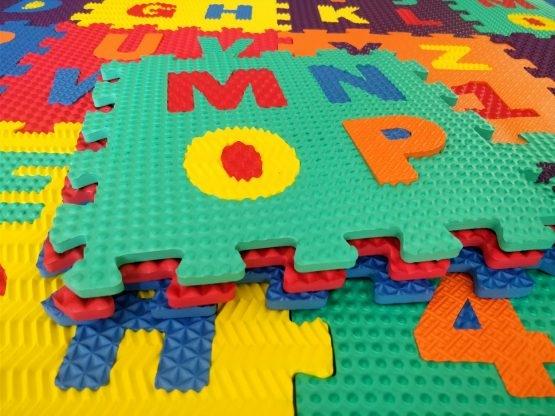 Set covorase puzzle camera copiilului 30 de piese - Covor puzzle cu imprimeuri [7]
