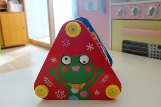 Piramida din lemn 5 in 1 bebe -Joc lemn Piramida 5 in 1 3