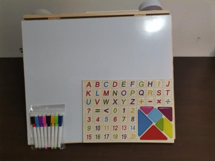 Placa din lemn Montessori Senzoriala Incuietori Busy Board 2 in 1 [12]