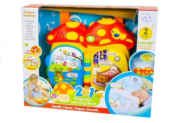 Proiector si Carte Bebe Ciupercuta 2 in 1 - Proiector si lampa de veghe Ciupercuta  2 in 1 [3]