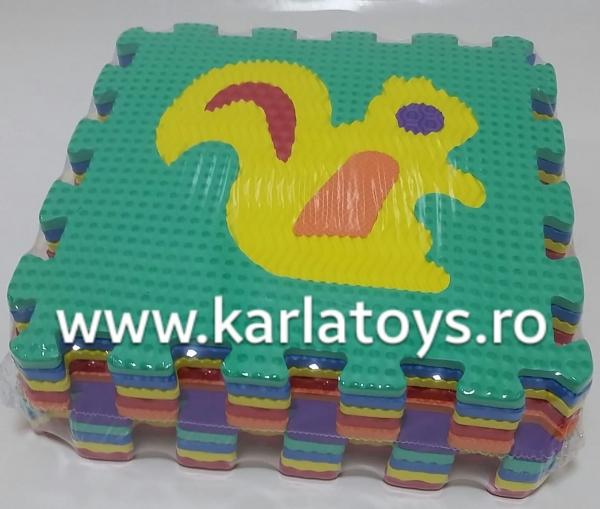 Set covorase puzzle camera copiilului 30 de piese - Covor puzzle cu imprimeuri [0]