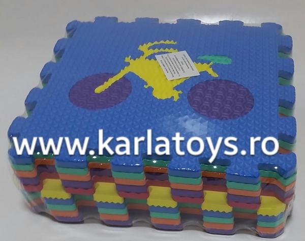 Set covorase puzzle camera copiilului 30 de piese - Covor puzzle cu imprimeuri [3]