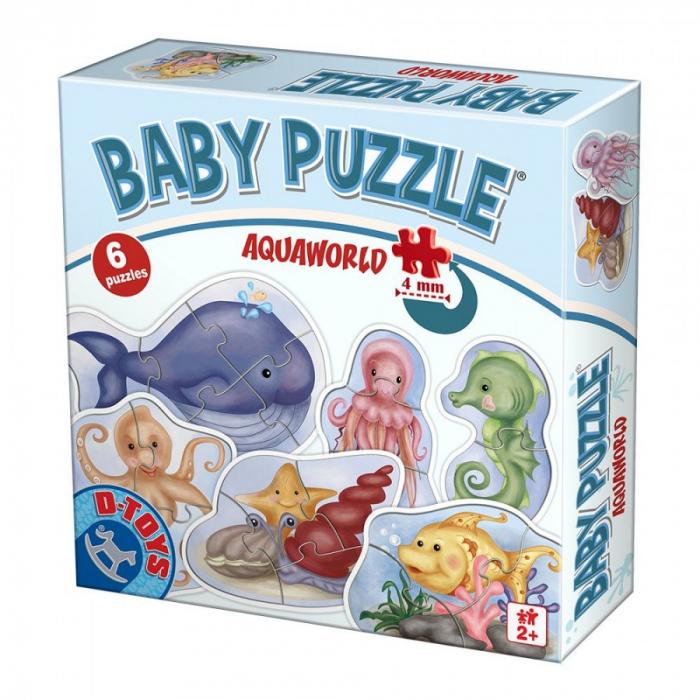 Puzzle pentru copii dimensiune mare Baby puzzle 0