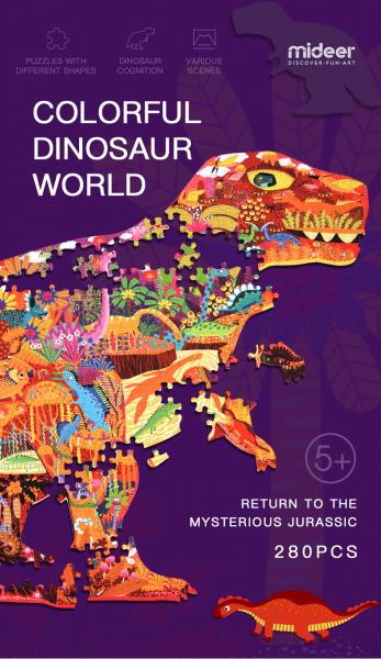 Puzzle educational Mare Elefant mozaic 280 piese Mideer 11