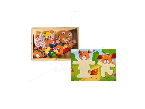 Puzzle lemn 2 ursuleti [1]