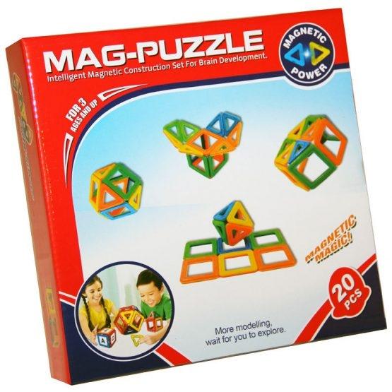 Joc constructie magnetic 3D 0