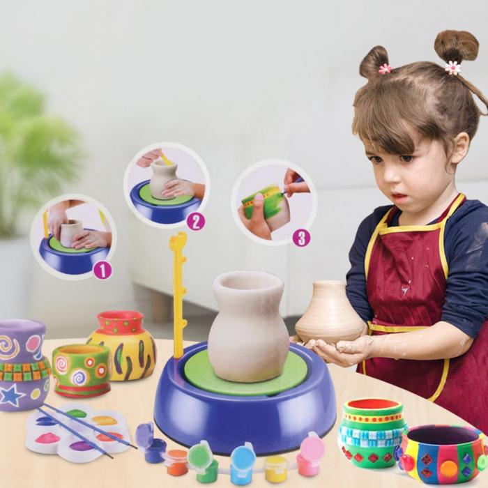 Joc de modelare Roata Olarului pentru copii [3]