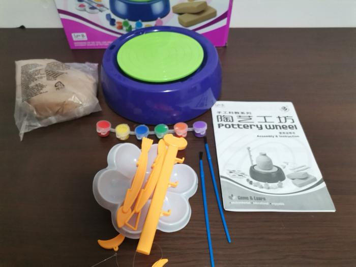 Joc de modelare Roata Olarului pentru copii [1]