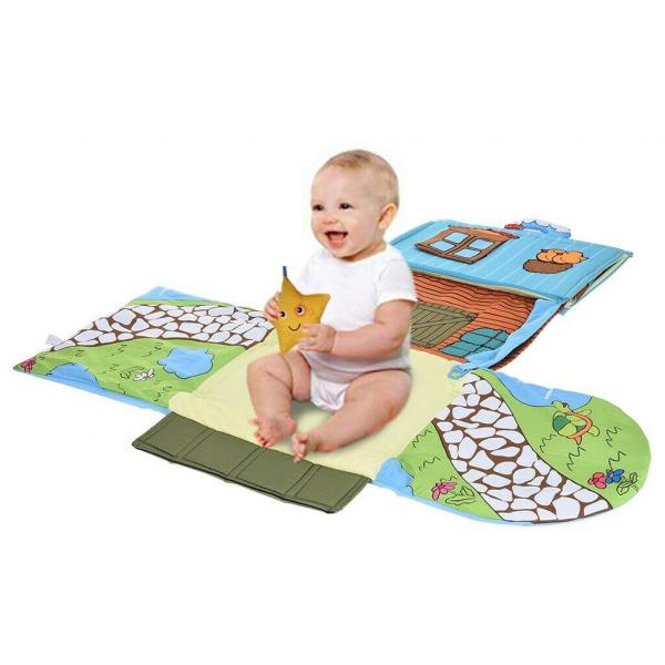 Saltea de joaca bebe Casuta 4 in 1 Farm - Saltea bebe 4 in 1 5