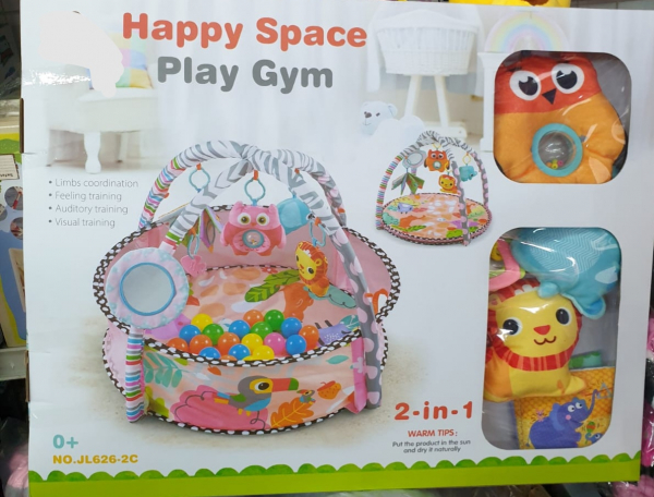 Saltea de joaca Bebe 2 in 1 Happy Space 3