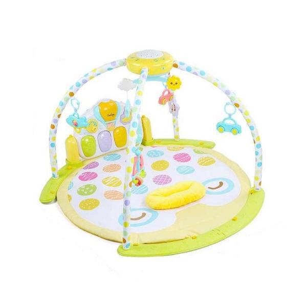 Saltea de joaca bebe cu piana, carusel si proiector Goodway 5