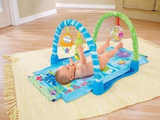 Saltea de joaca bebe 3 in 1 0