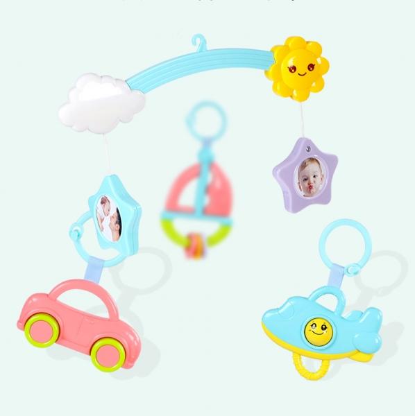 Saltea de joaca bebe cu piana, carusel si proiector Goodway 4