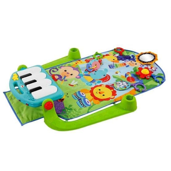 Saltea de joaca bebe cu centru activitati 4 in 1 Piano 3