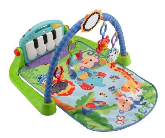 Saltea de joaca bebe cu centru activitati 4 in 1 Piano 2