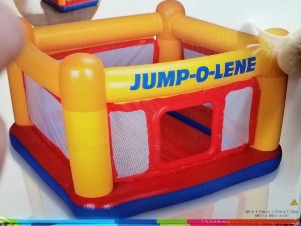 Centru de joaca Gonflabil intex Jump-o-Lene 0