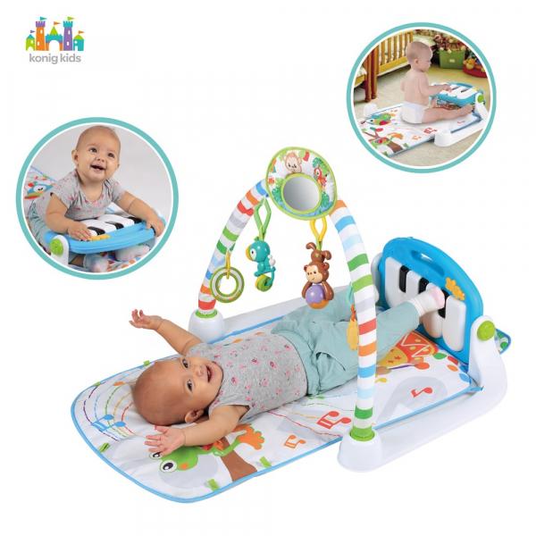 Centru de activitati Bebe  cu pian - Salteluta cu activitati cu pian 3
