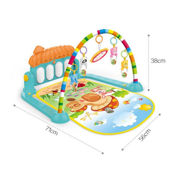 Saltea activitatii bebe 3 in 1 Huanger -Saltea bebe 3 in 1 cu pian 2