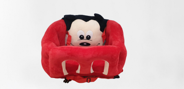 Scaun bebelusi portabil din plus - Inaltator scaun din plus pentru Bebe 9