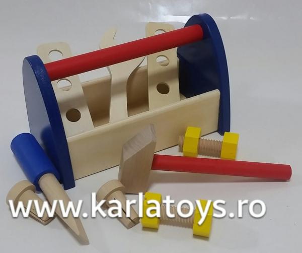 Cutie de scule din lemn 3