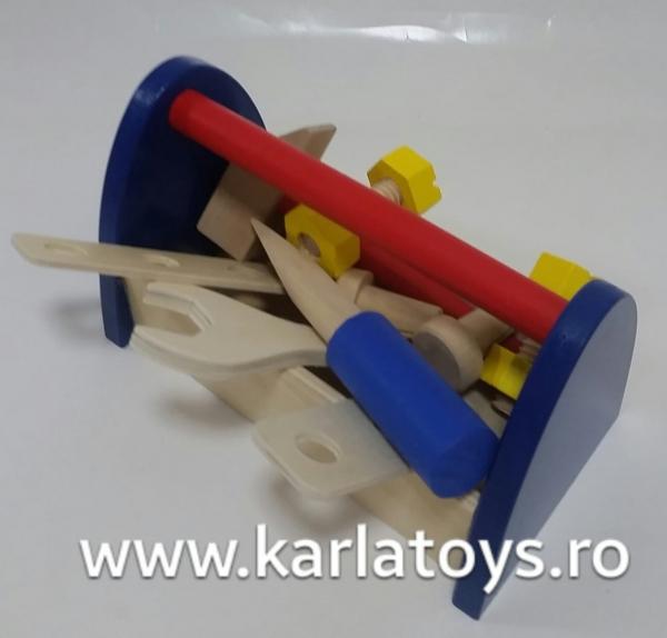 Cutie de scule din lemn 0