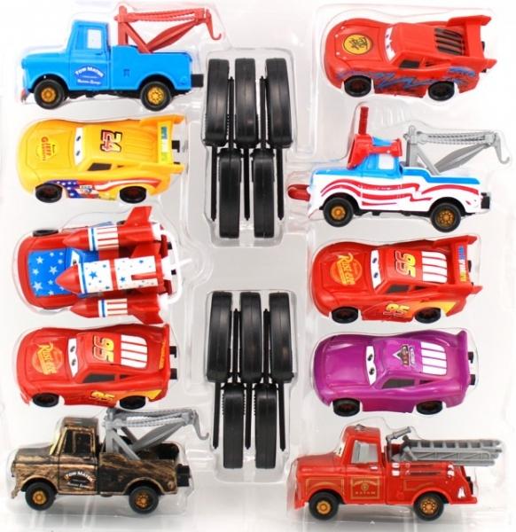 Set de 10 masinute Cars 1