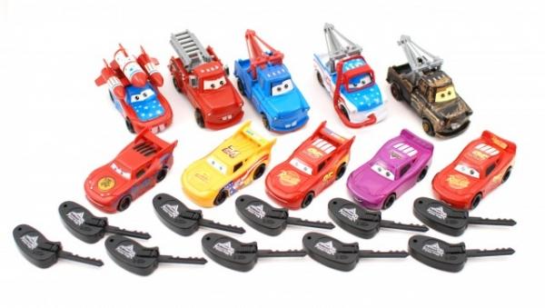 Set de 10 masinute Cars 3