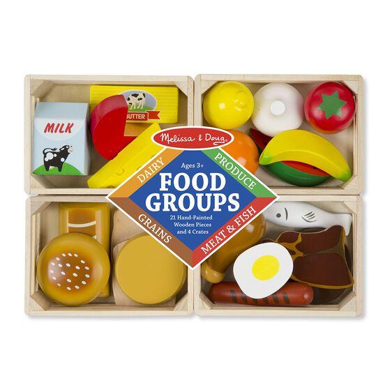 Set Alimente din Lemn pentru Copii Melissa and Doug 1