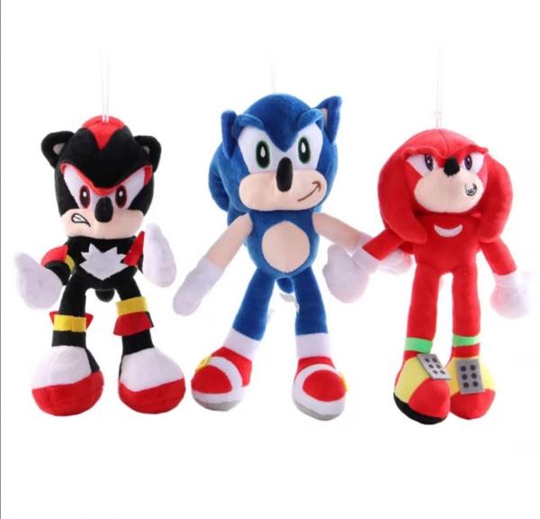 Set 6 buc Jucarii de plus Super Sonic - Set Plusuri Sonic Hedgehog 26