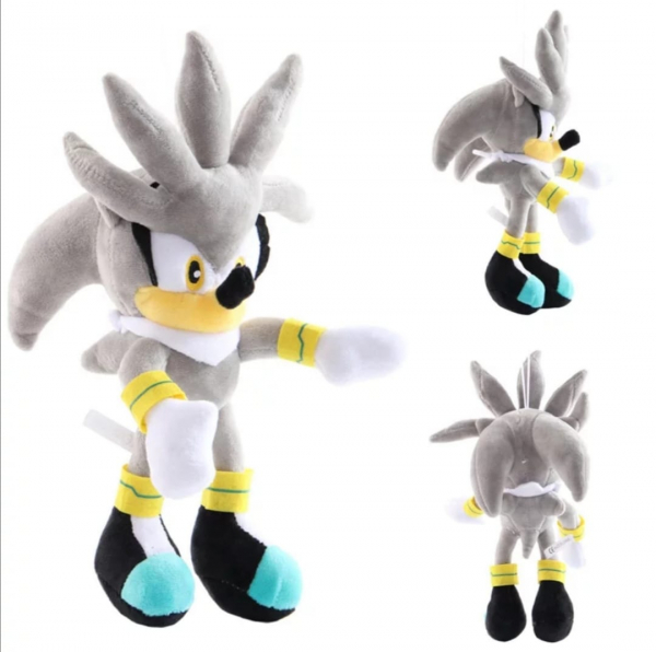 Set 6 buc Jucarii de plus Super Sonic - Set Plusuri Sonic Hedgehog 22
