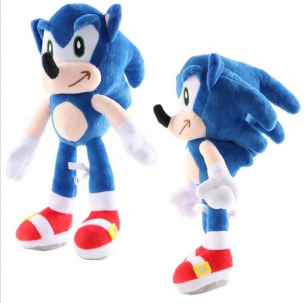Set 6 buc Jucarii de plus Super Sonic - Set Plusuri Sonic Hedgehog 21