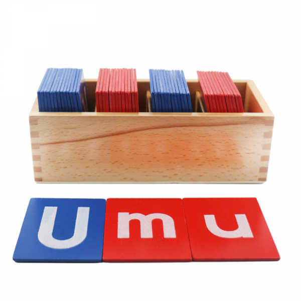 Set din Lemn Carduri Litere Montessori [0]