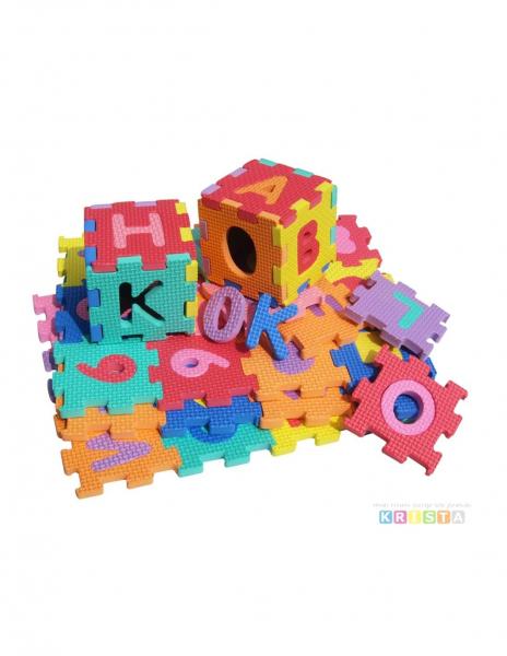 Set de puzzel cifre si litere 36 de buc de Birou 0