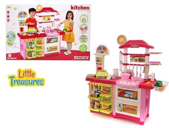 Fast Food bucatarie de jucarie - Bucatarie copii Mare cu accesorii 0