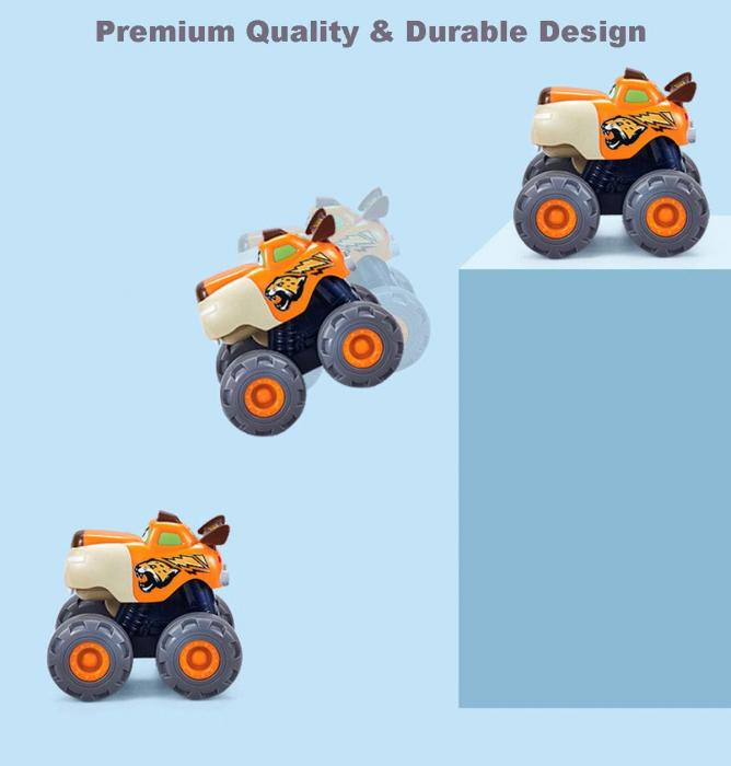 Set Jucarii Bebe Masinute Camioane Monster Trucks Hola Toys [9]