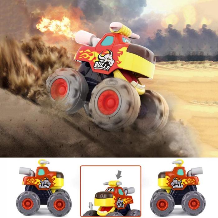 Set Jucarii Bebe Masinute Camioane Monster Trucks Hola Toys [1]