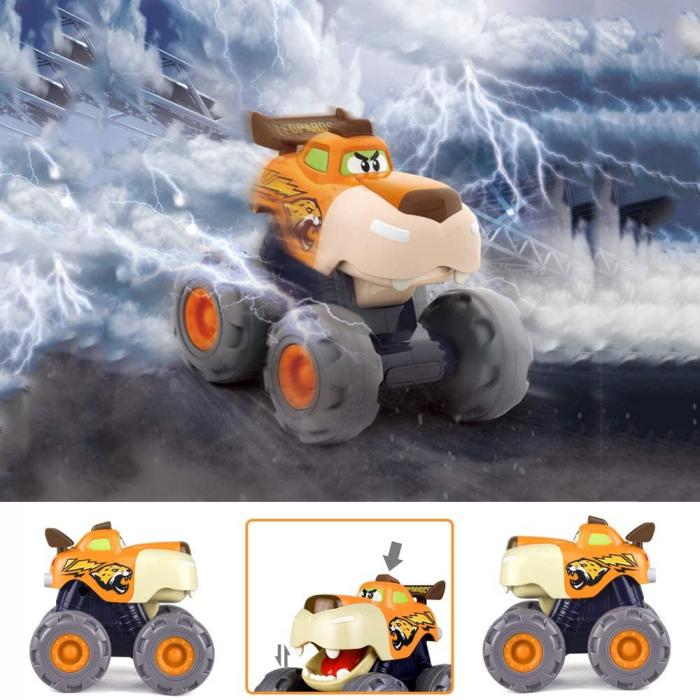 Set Jucarii Bebe Masinute Camioane Monster Trucks Hola Toys [2]