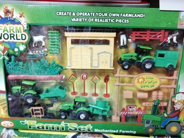 Set Jucarii Ferma animalelor Super Farm  0