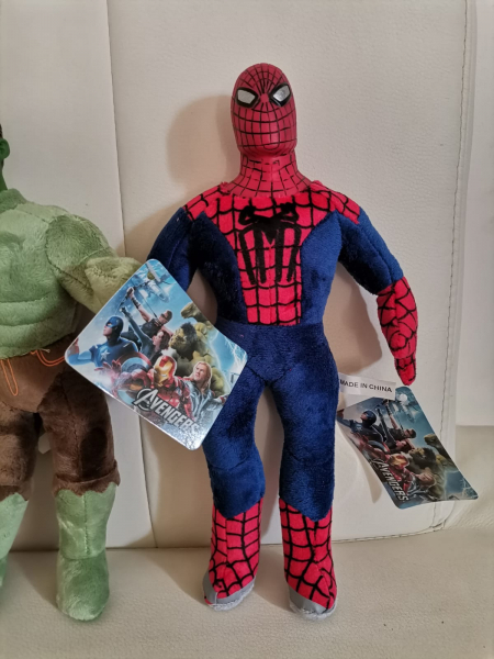 Set jucarii plus Hulk Captain America Spiderman 3 bucati 2