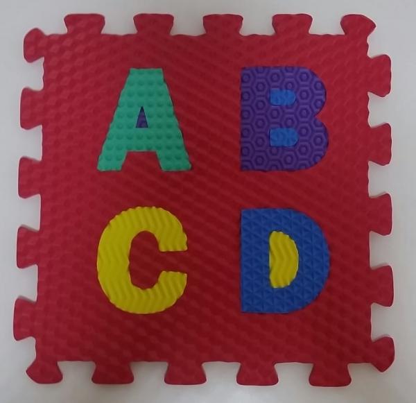 Set puzzel 10 piese cifre si litere - Covoras puzzle Litere si Cifre 2