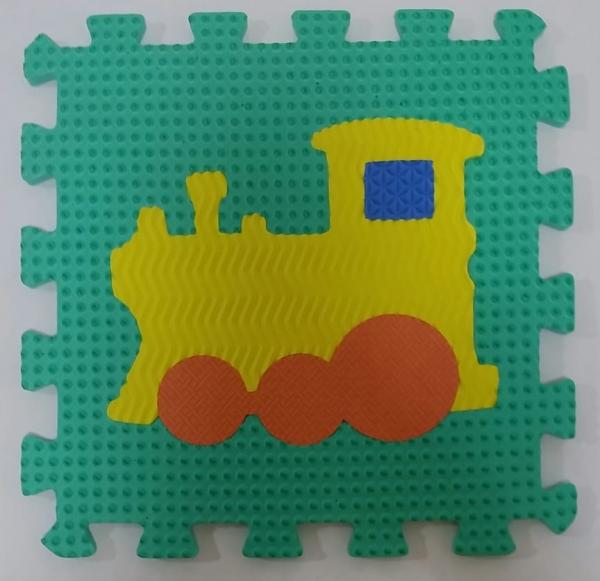 Set puzzel 10 piese cu vehicole - Covoras puzzle vehicole [10]