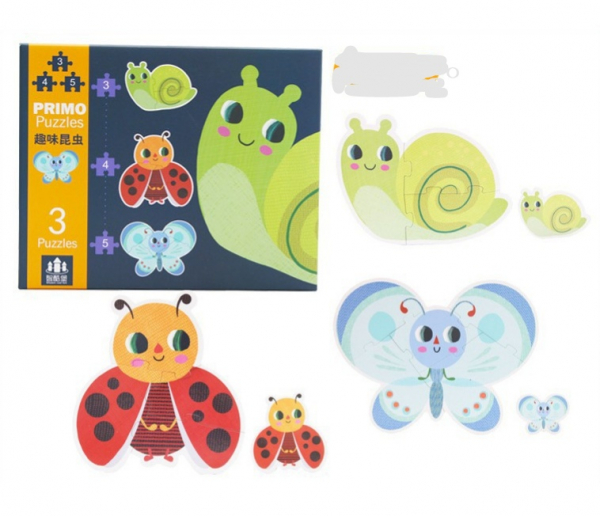 Set Puzzle Mare copii - Puzzle imagini animale piese mari 5